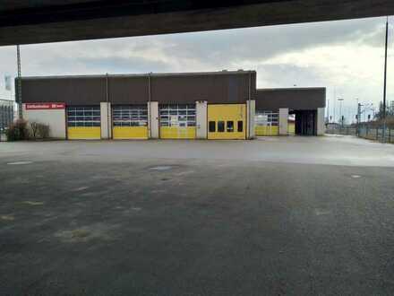 Große und vielseitig nutzbare Produktions-/Werkstatthalle