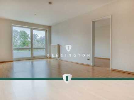 Tolle 2-Zimmer-Wohnung mit Tiefgarage, moderner Einbauküche und Balkon an der Grenze zu Oberneuland