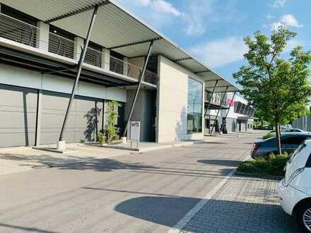 Lager-/Produktionsfläche mit Büro im HERTO-Park zu vermieten!