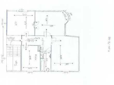 Wunderschöne Drei-Raum-Wohnung in Kliniknähe