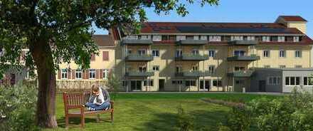 2 Zi mit BLK im naturverbundenen + wohngesunden Wohnprojekt Gelbe Mühle
