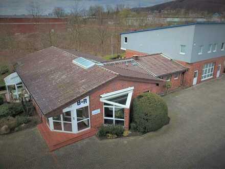 Betriebsgebäude mit Fertigungshalle / Ibbenbüren / Westfalen