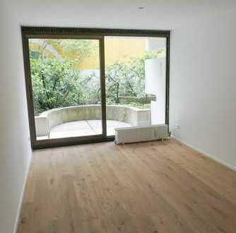 leeres 1-Zimmer-Apartment Univiertel-Maxvorstadt! *Bestlage mit Terrasse und TG*