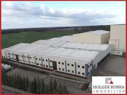 Große Produktions- bzw. Lagerhallen mit Hochregallager!