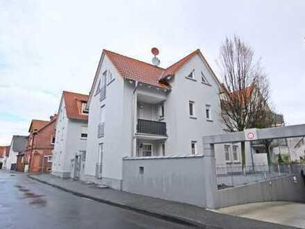 Zentrumsnahe 2-Zimmerwohnung mit Tiefgaragenstellplatz in Pfungstadt
