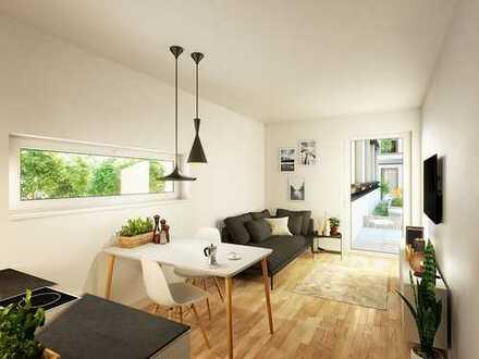 Apartment mit effizientem Grundriss und eigener Dachterrasse im Herzen von Augsburg