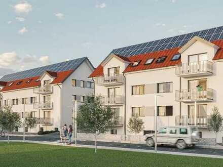 Erstbezug: stilvolle 2-Zimmer-Wohnung mit Einbauküche und Balkon in Ostelsheim