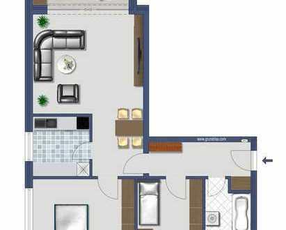 Erstbezug nach Sanierung: Großzügige zentral gelegene 3 Zimmerwohnung