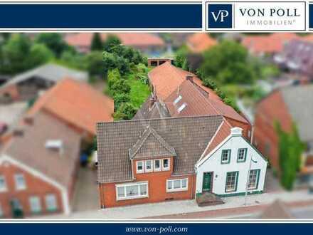Viel Fläche für Handwerker - denkmalgeschütztes Wohn- und Geschäftshaus