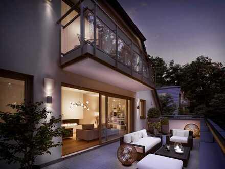 Dachgeschoss-Maisonette auf ca. 183 m² mit sonniger Dachterrasse in wunderbarer Umgebung