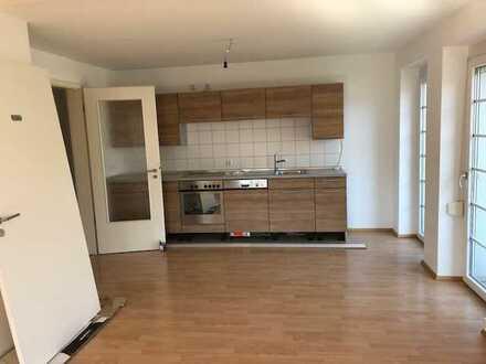 Gepflegte 3-Raum-Wohnung mit Balkon und Einbauküche in Laupheim