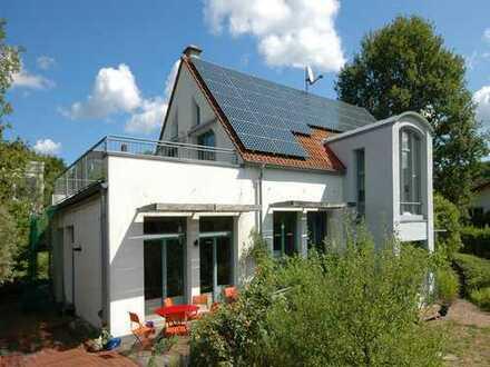 Naturnahes Biohaus mit unverbauter Aussicht