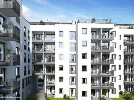 Erstbezug München Sendling: Geräumige 3-Zi. Wohnung mit Loggia u. Balkon