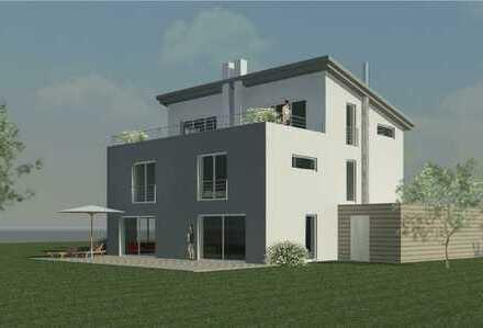 Moderne, Doppelhaushälfte in schöner, großzügiger Lage