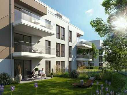 Schicke 2-Zimmer-Wohnung mit Balkon