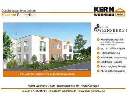 Die Alternative zum Einfamilienhaus! 4,5 Zi.- Maisonette-Whg mit Terrasse + Gartenanteil WHG_02