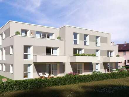 ETW 2 * Kfw 55 - Neubauwohnung, 2-Zi.-Wohnung mit Terrasse/Garten + 26.500 € Zuschuss vom Staat