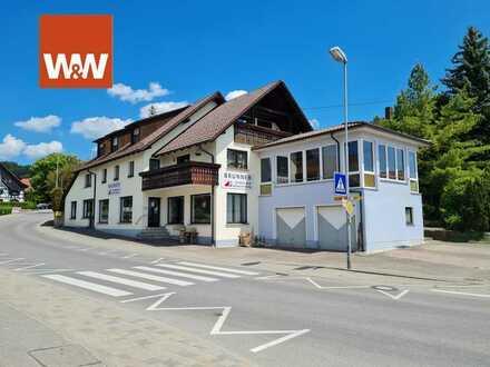3-Zi. Wohnung 85 m² im großen Wohn-Geschäftshaus (4 Einheiten) in Salem-Beuren zu verkaufen!