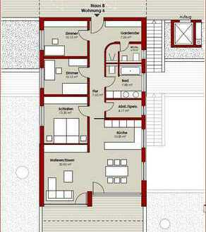 B6 | 4,5 Zimmer | 127,70 m²