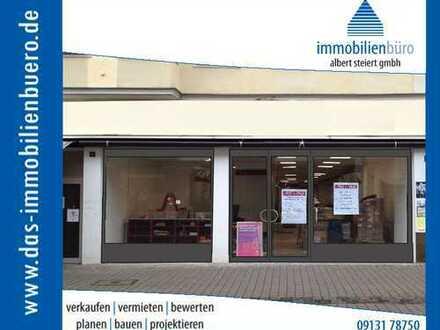 Großzügige Ladenfläche inmitten der Erlanger Fußgängerzone, ggf. auch teilbar