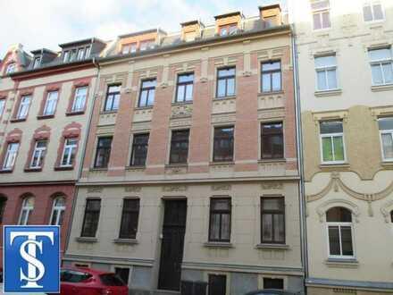 09/19 - schöne 3-Zimmer-Dachgeschoss-ETW mit Balkon in Denkmalschutzobjekt in Plauen (Haselbrunn)