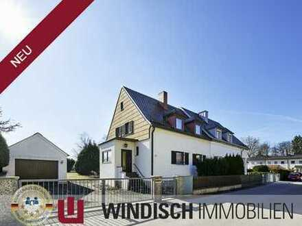 Traumgrundstück in Olching mit alter Doppelhaushälfte zum renovieren oder Abriss im Bieterverfahren