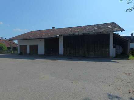 Hobbywerkstatt - Lagerfläche inkl. abschließbarerer Garagen und Grube