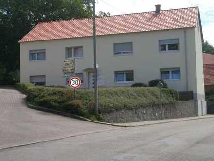 KL - Niederkirchen: Nette helle Wohnung (2 ZKB - unmöbliert) in gepflegtem Mehrfamilienhaus
