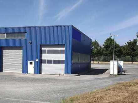 LKW / PKW Werkstatt mit Autobahnanbindung Bremsenprüfstand und Montagegruben