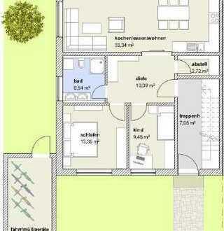 3 Zimmer Wohnung in Rain - Ein neues Zuhause von SOWA Immobilien und Finanzen Ihr Experte vor Ort