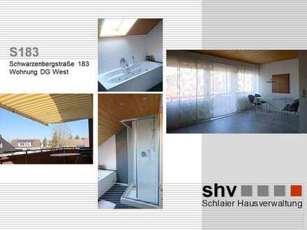 Erstbezug nach Sanierung mit Einbauküche und Balkon: schöne 2,5-Zimmer-DG-Wohnung in Ulm