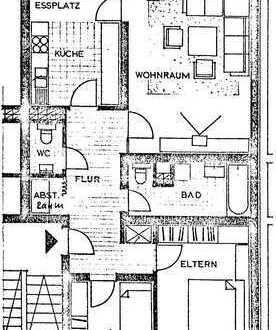 Gepflegte 3-Zimmer-Wohnung in Karlsruhe-Baumgartensiedlung