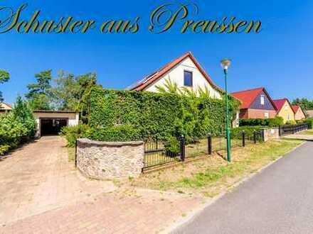 Schuster aus Preussen - Britz bei Eberswalde - wunderschön helles Einfamilienhaus mit 4 Zimmern, ...