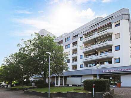 Geräumige, lichtdurchflutete 3,5 Zimmer Wohnung mit großem Balkon in ruhiger Lage in S-Heumaden