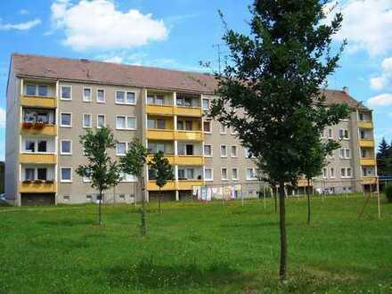 2-Raum-Wohnung mit Balkon in Milkel zu vermieten
