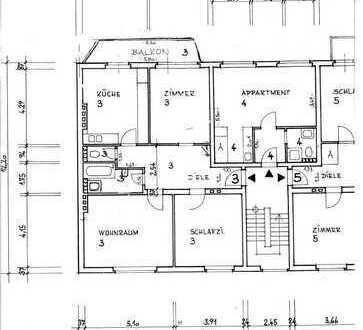 ruhige 3-Zimmer-Wohnung mit Balkon in Mülheim, Köln