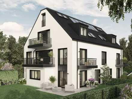 E & Co.- Exklusive 3 Zimmer Obergeschosswohnung. mit Terrasse und Balkon.