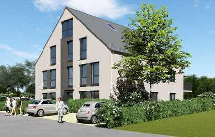 Ohne Käuferprovision: Eigentumswohnung Nr. 4 im Obergeschoss mit großem Balkon in Naturlage