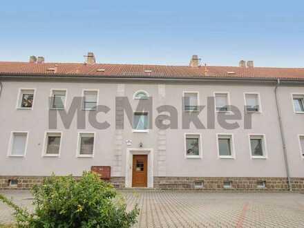 Gestaltungspotenzial: Schön geschnittene 2-Zi.-Wohnung ruhig gelegen in Trebsen/Mulde nahe Grimma