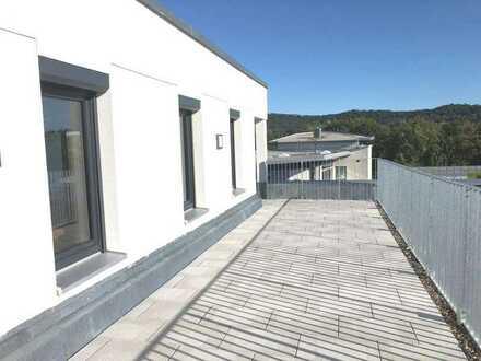 2 Zimmer Wohnung * EBK * Parkettboden + großer Balkon * Neubau Erstbezug