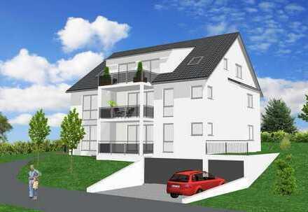 schlüsselfertige 4,5 Zimmer DG-Wohnung / Aufzug / Tiefgarage **Neubau**