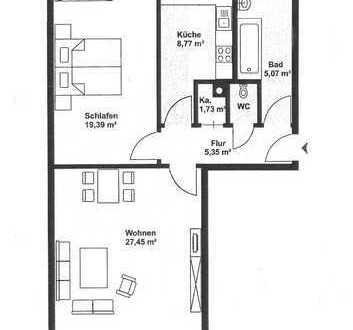 2-Zimmer-Wohnung mit Einbauküche in Sendling-Westpark, München