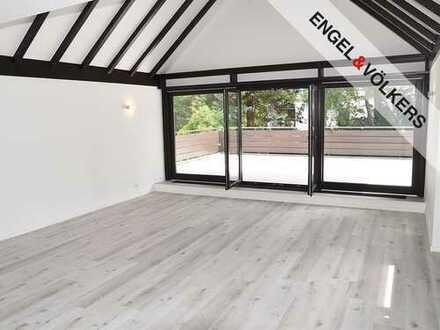 Lichtdurchflutete Wohnung mit Dachterrasse