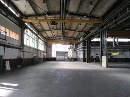 Provisionsfrei vom Eigentümer - Lager-/Produktionshalle mit Freifläche/Kranbahn (BauNVO: GE/GI)