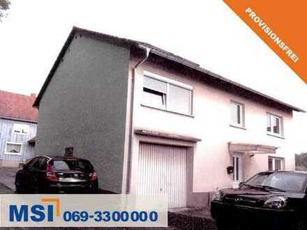 Provisionsfrei ! Einfamilienhaus mit Nebengebäude in der Nähe von Alsfeld