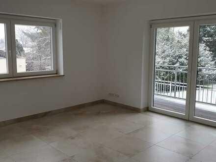 Helle 2-Zimmer-Wohnung mit Balkon, Gartenanteil, separatem Zimmer und EBK in Marloffstein-Rathsberg