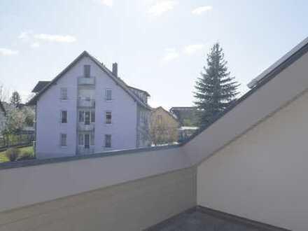 Tolle 3-Zimmer-Dachgeschoss Whg. in Bad Krozingen mit 2 Dachterrassen u. Kfz-Stellplatz