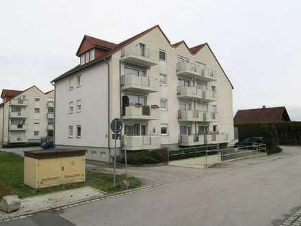 1-Zimmer Wohnung mit Balkon u. TG-Stellplatz
