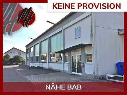 PROVISIONSFREI! Lager-/Werkstatt (670 qm) & Büro (470 qm) sowie Freilager (1.200 qm) zu vermieten