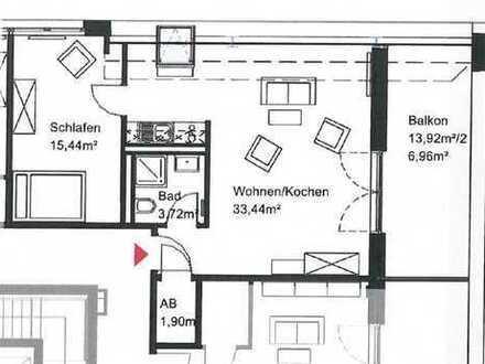 730 €, 65 m², 2 Zimmer
